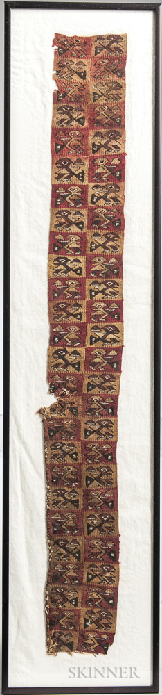 Pre-Columbian Weaving Fragment