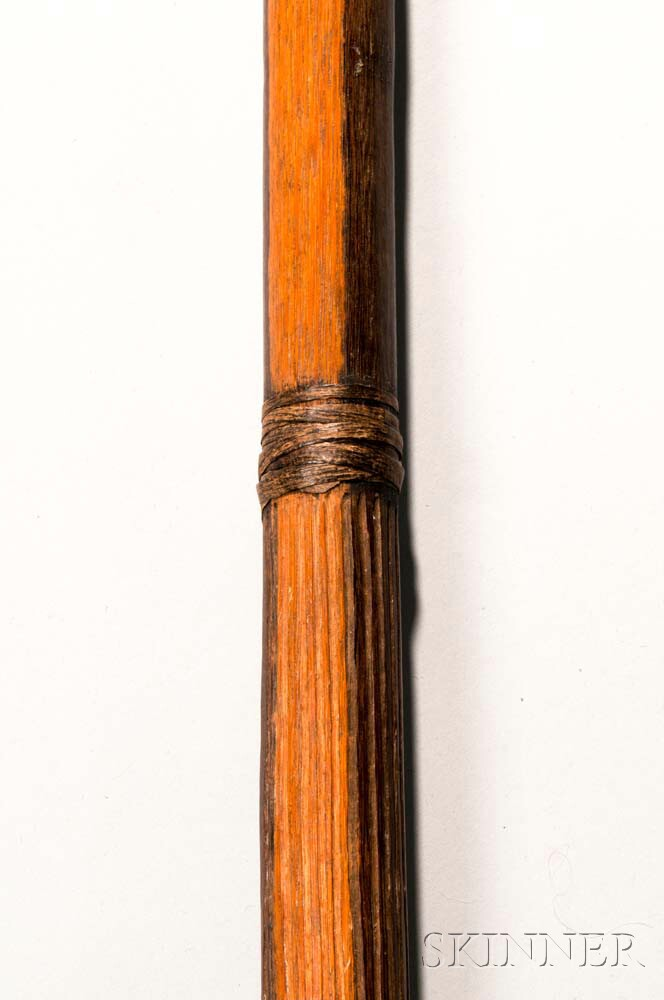 Amazonian Carved Hardwood Club