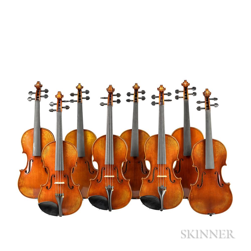 Eight Child's Violins