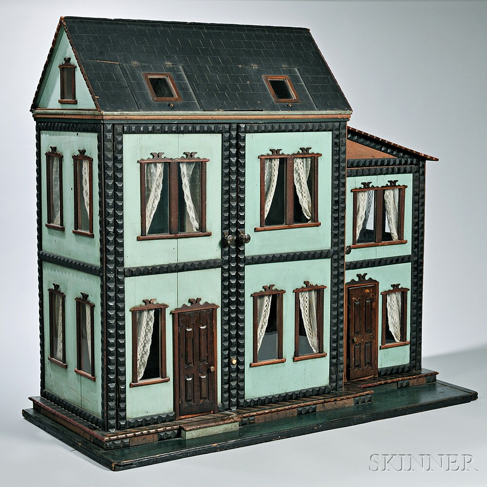 Six Room Quot Mystery Quot Dollhouse Sale Number 2939m Lot