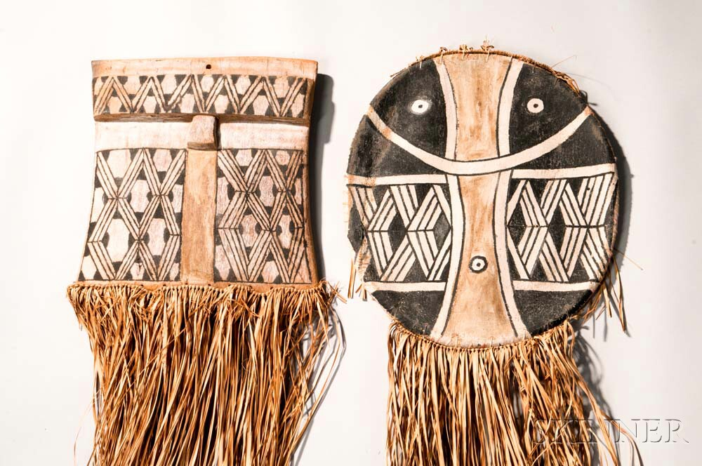Two Amazonian Ceremonial Masks
