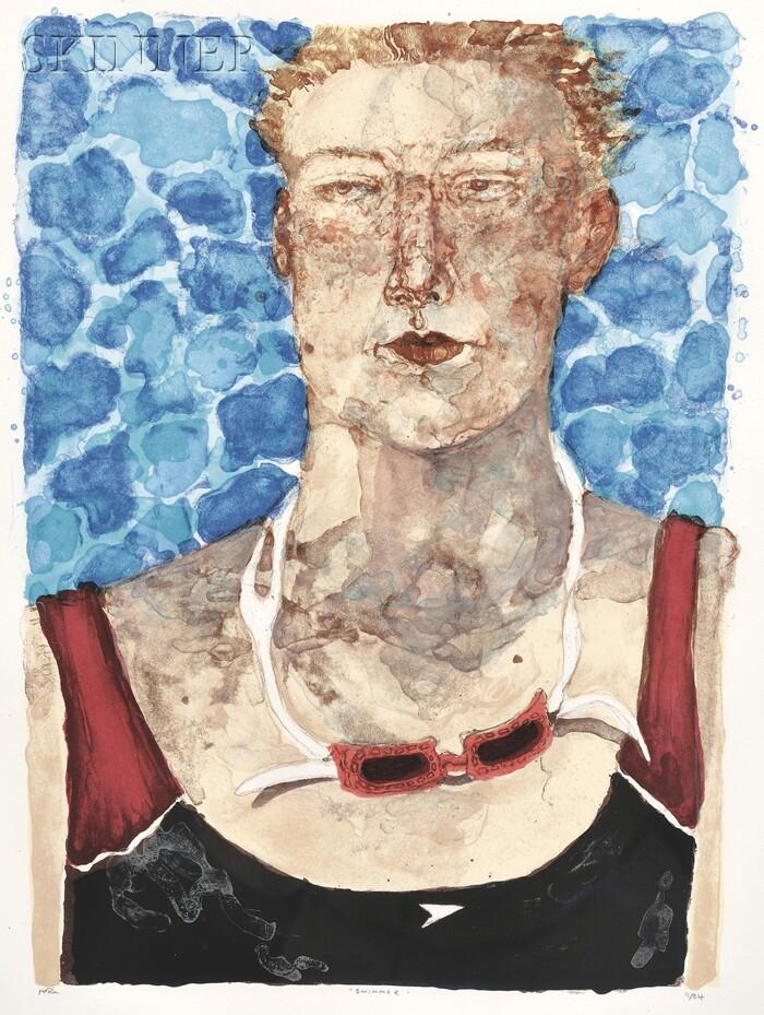 Jennifer McRae (British, 20th/21st Century)      Swimmer