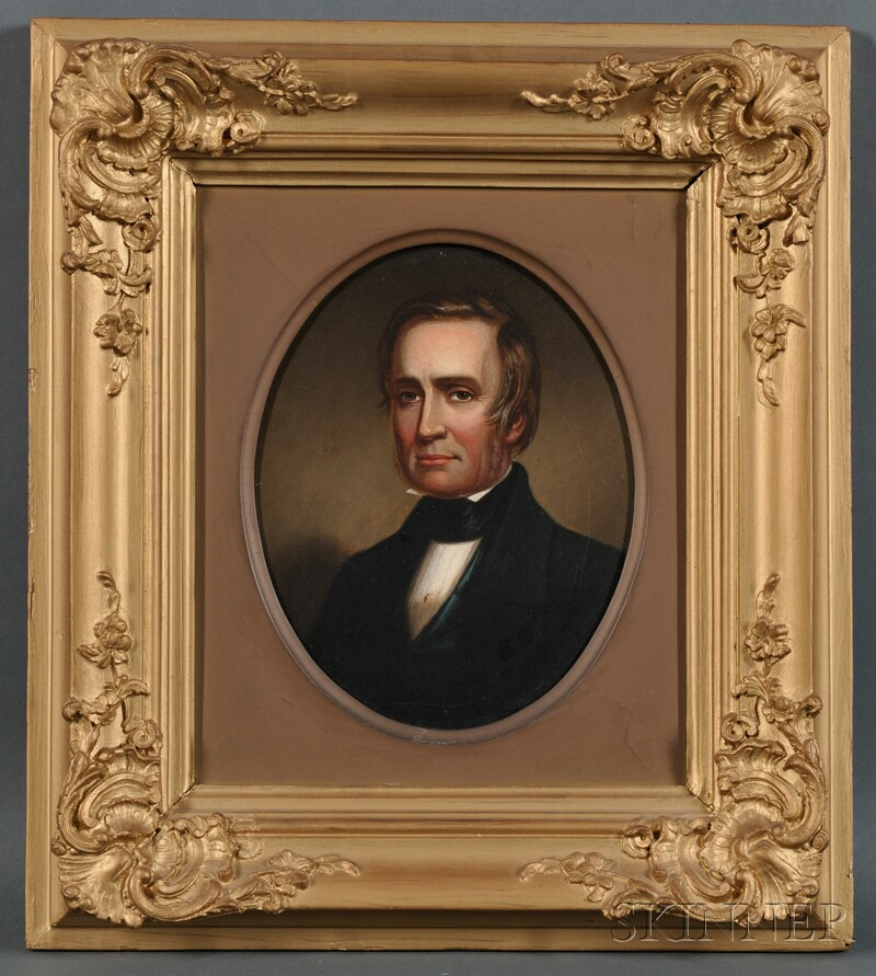 William B. Chambers (New York and Pennsylvania, Early 19th Century) Portrait of Theodore Frelinghuysen, Statesman and Vice President...