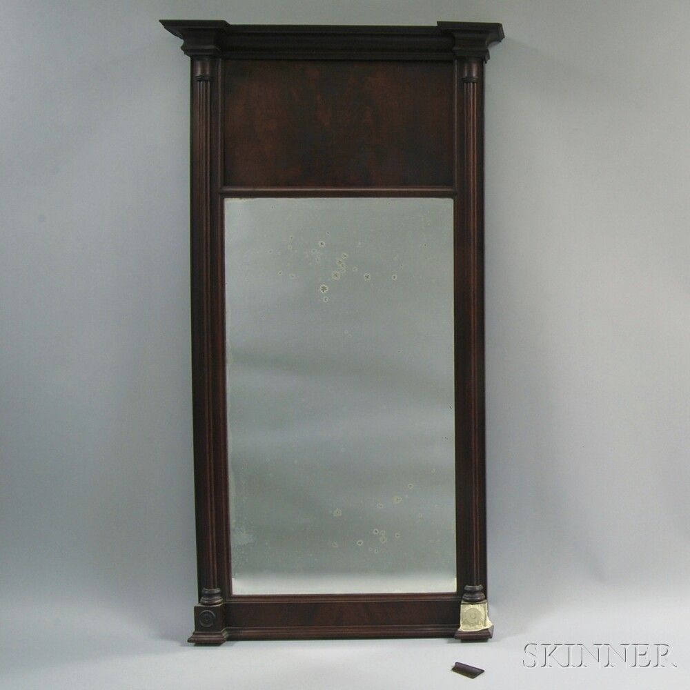 Federal Mahogany Mirror