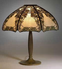 Handel Floral Overlay Table Lamp