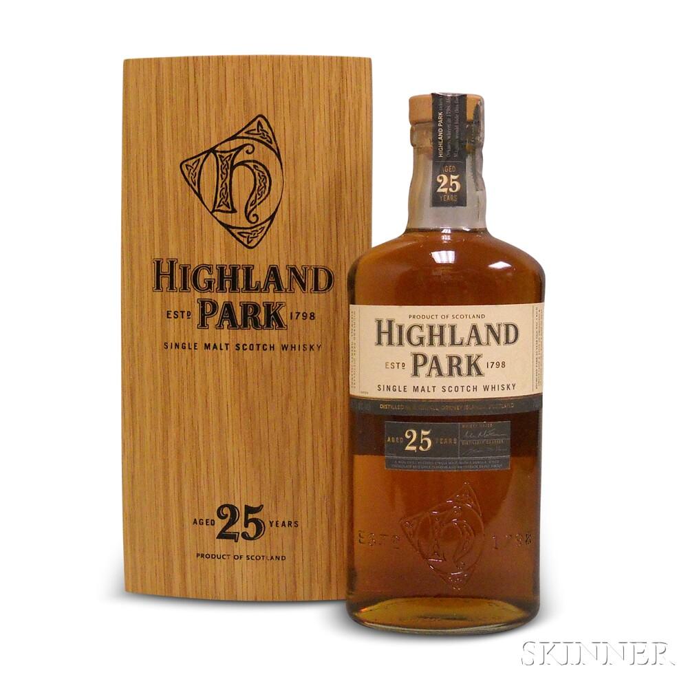 Highland Park 25 Years Old, 1 750ml bottle