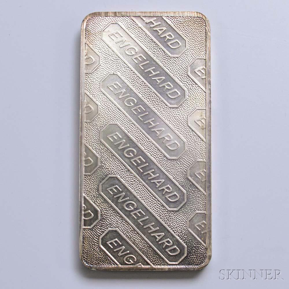 Engelhard Ten Troy Ounce Silver Bar Sale Number 2982t