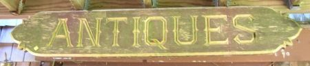 Two Carved and Painted Wooden Antiques Quarterboards.