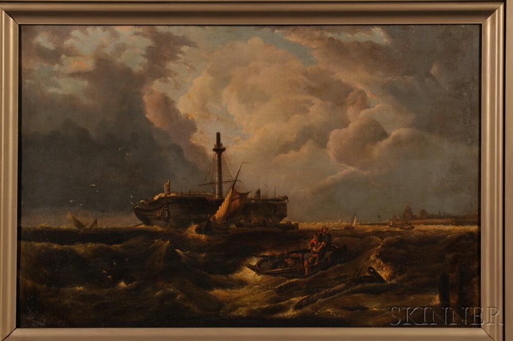 American School, 19th Century      Shipwreck