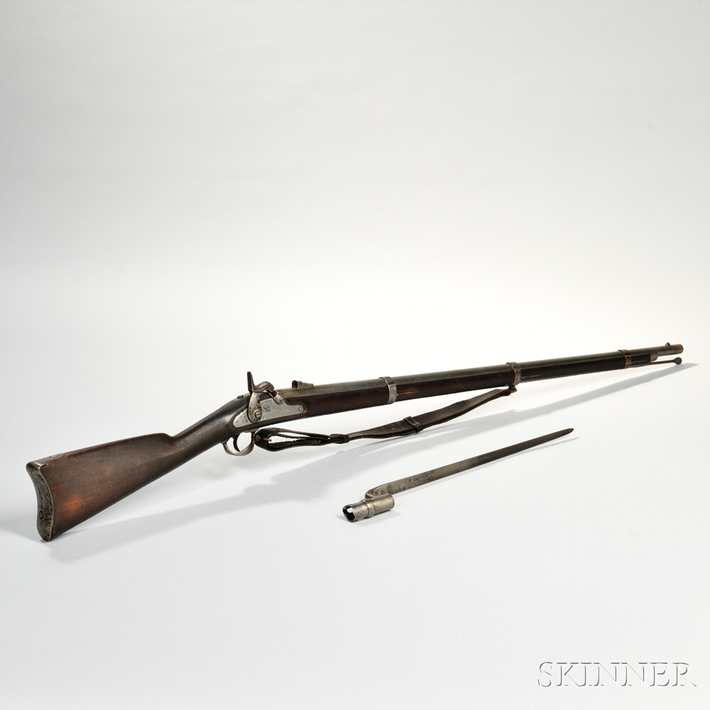 Model 1861 U.S. Percussion Rifle-Musket, Sling, and Bayonet