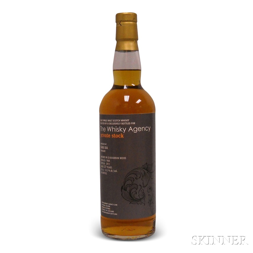 Caol Ila 27 Years Old 1984, 1 700ml bottle