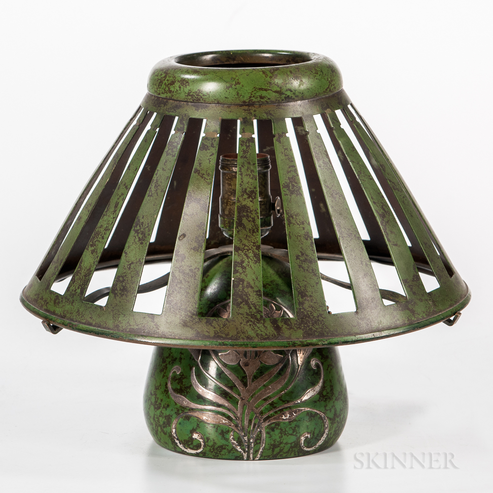 Heintz Art Metal Shop Boudoir Lamp