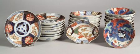 Twenty-five Pieces of Imari Ware
