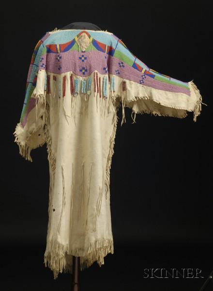Plateau Beaded Hide Woman's Dress