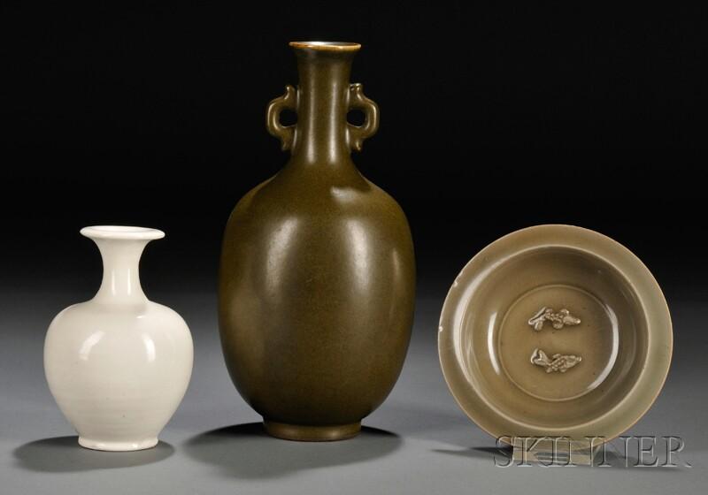 Three Pottery Items