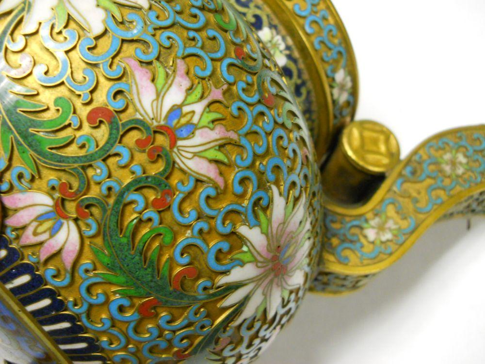 Champleve Brass Incense Burner