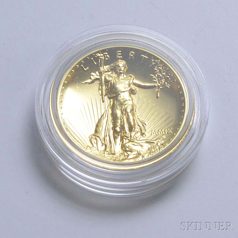 Cased 2009 Ultra High Relief $20 Double Eagle Gold Coin