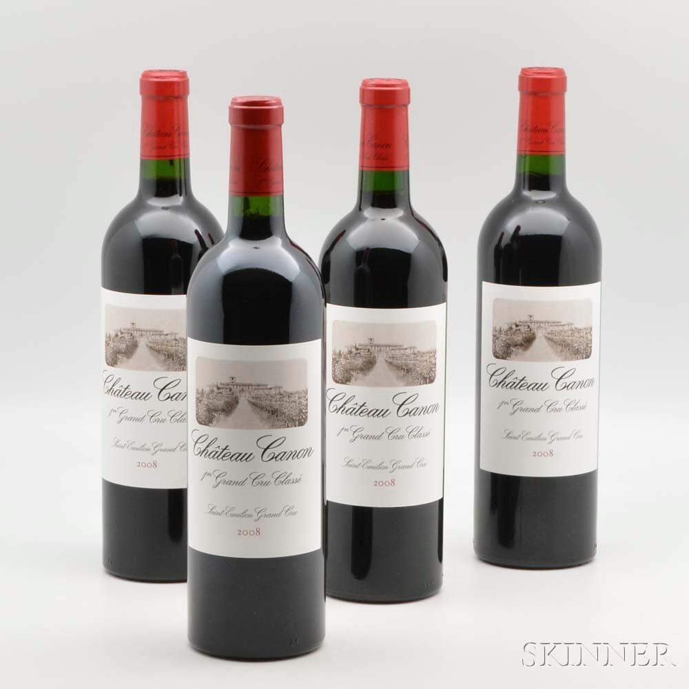 Chateau Canon 2008, 12 bottles (owc)