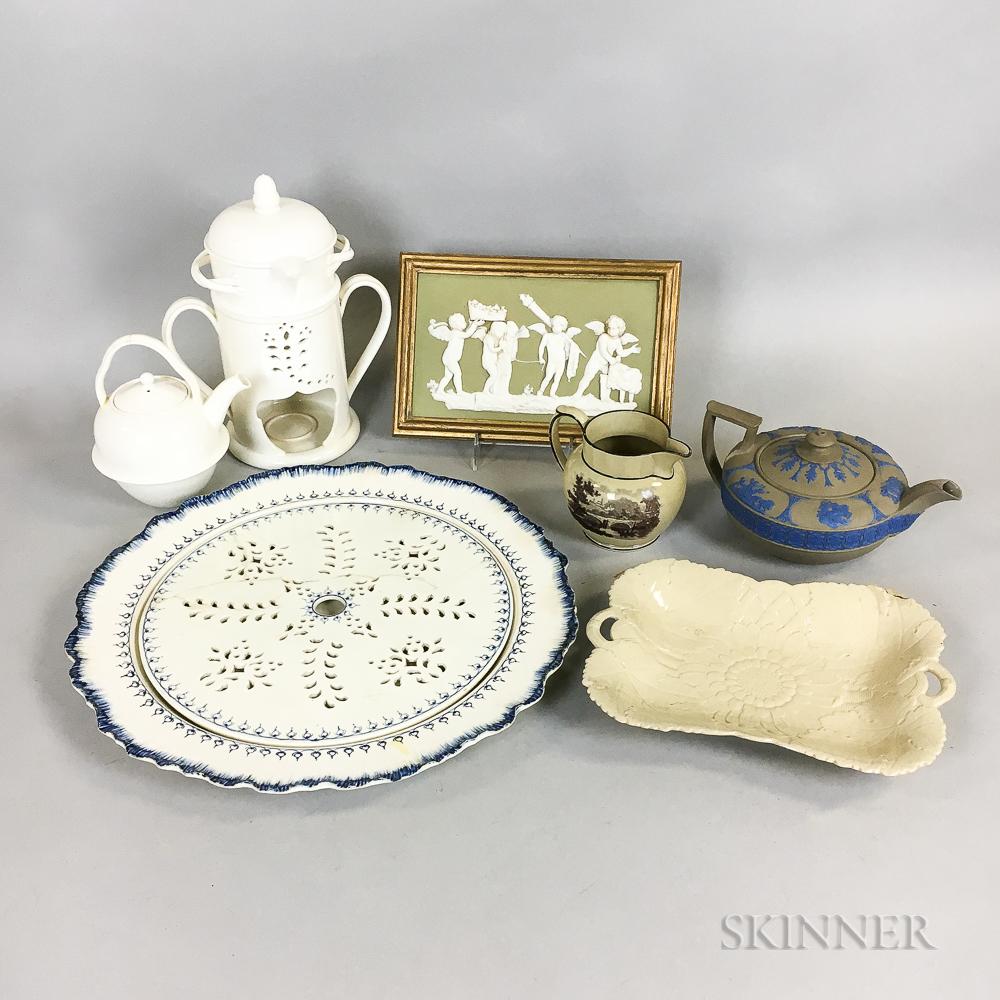 Seven Wedgwood Ceramic Items