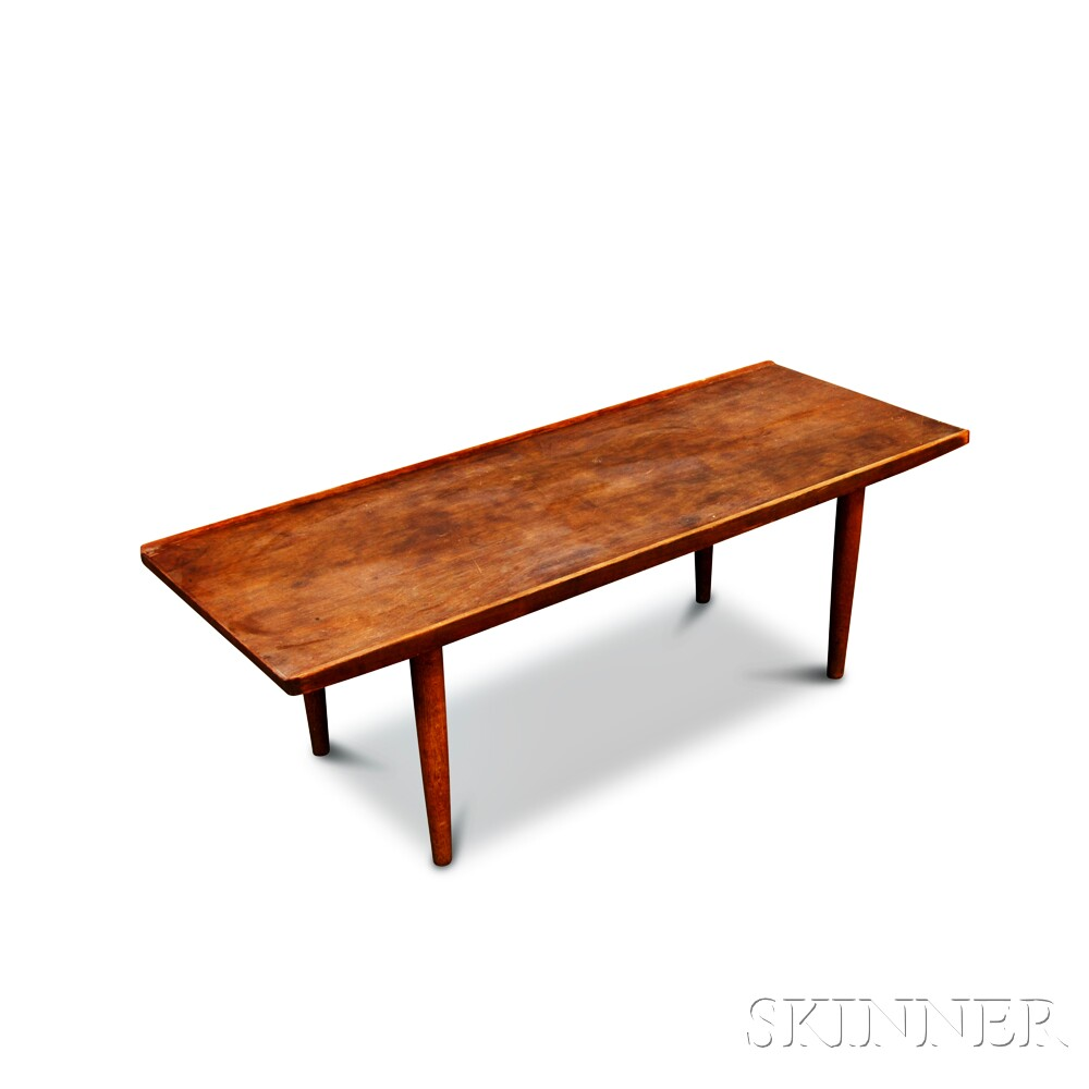 Scandinavian Teak Coffee Table: Scandinavian Modern Teak Coffee Table