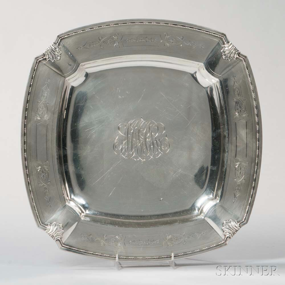 Whiting Sterling Silver Tray