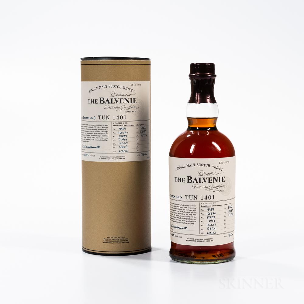 Balvenie TUN 1401 Batch 3, 1 750ml bottle (ot)