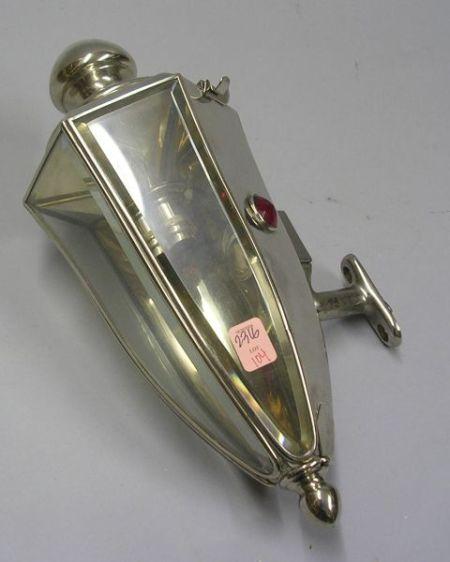 Pierce-Arrow Motor Co. Nickel Plated Auto Lamp