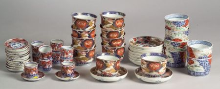Approximately Forty Pieces of Imari Porcelain