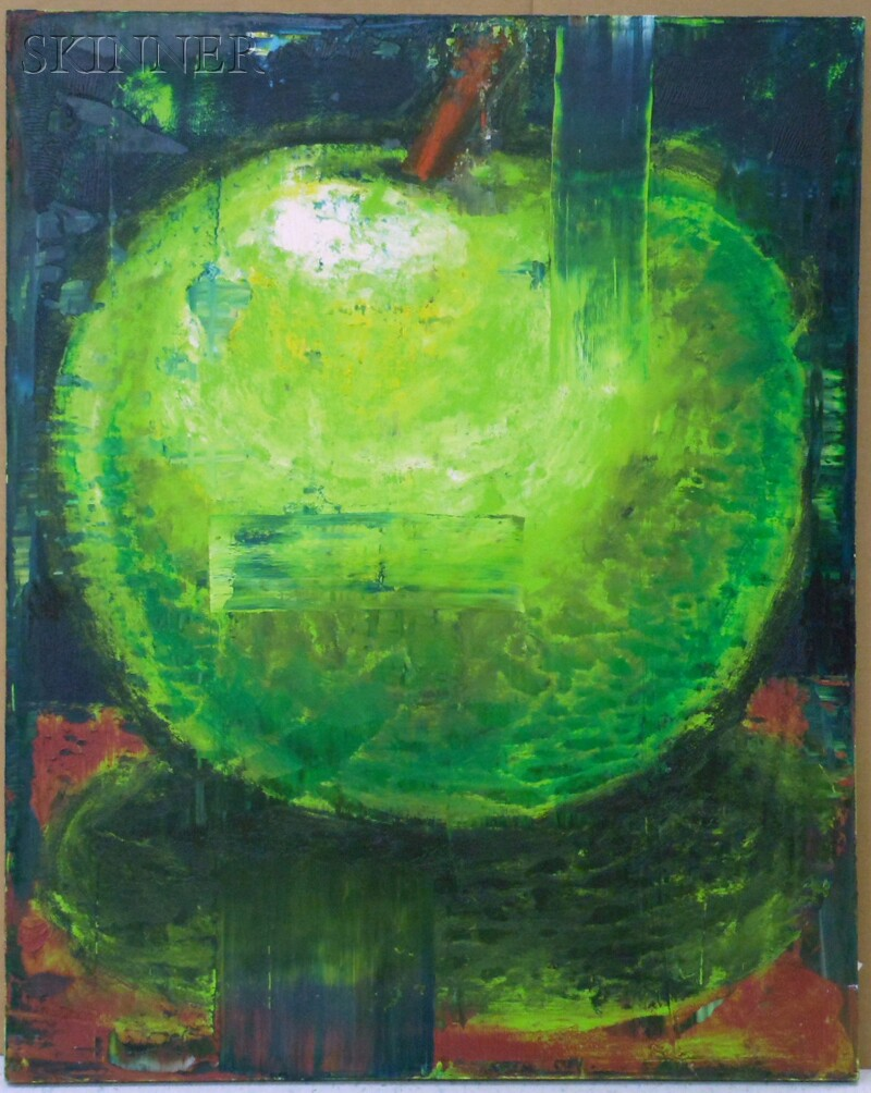 Aaron Fink (American, b. 1955)      Untitled, [Green Apple]