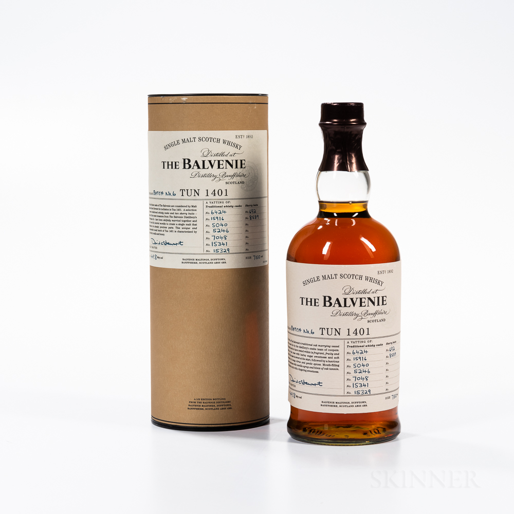 Balvenie TUN 1401 Batch 6, 1 750ml bottle (ot)
