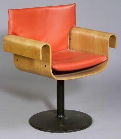 Mid-Century Bent Plywood Chair