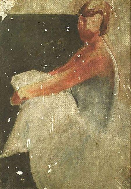 Lee Gatch (American, 1902-1968)  Sketch of a Dancer