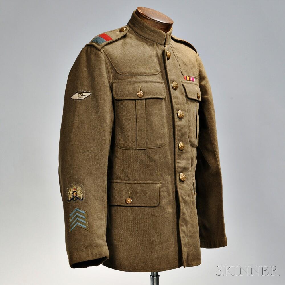 Universal Service Dress Jacket, 8th Tank Battalion