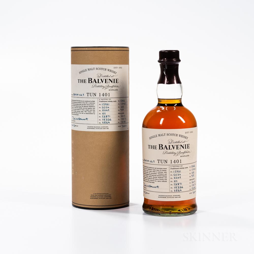 Balvenie TUN 1401 Batch 9, 1 750ml bottle (ot)