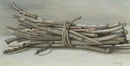 Richard de Menocal (American, 20th Century)  Bundle of Sticks