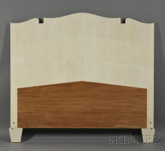 Shagreened Headboard