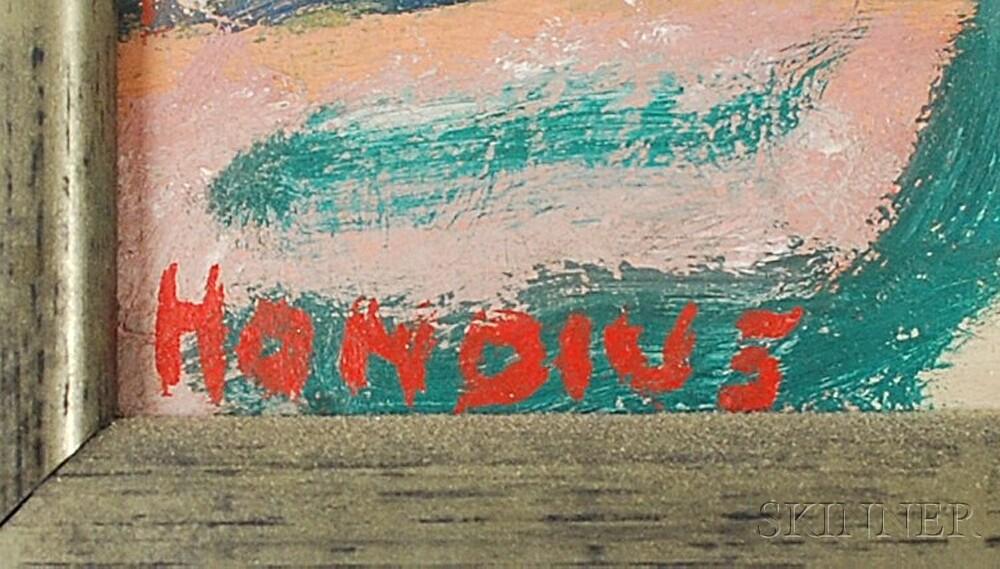 Gerrit Hondius (Dutch/American, 1891-1970)      Three Figures