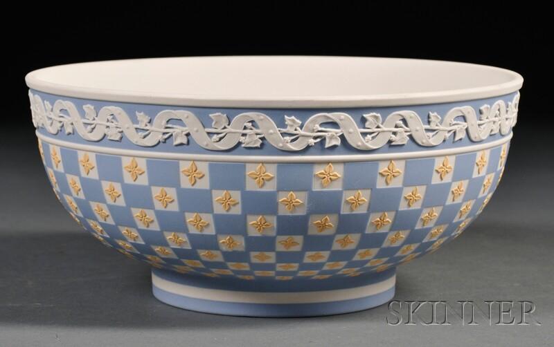 Wedgwood Three Color Jasper Dip Dice Ware Bowl