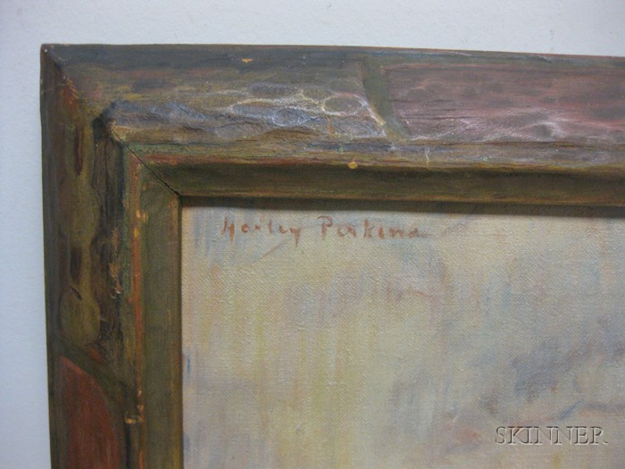 Harley Manlius Perkins (American, 1883-1964)      Still Life with Bread
