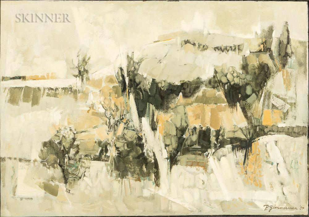 Paul Zimmerman (American, 1921-2007)    Morning Mist