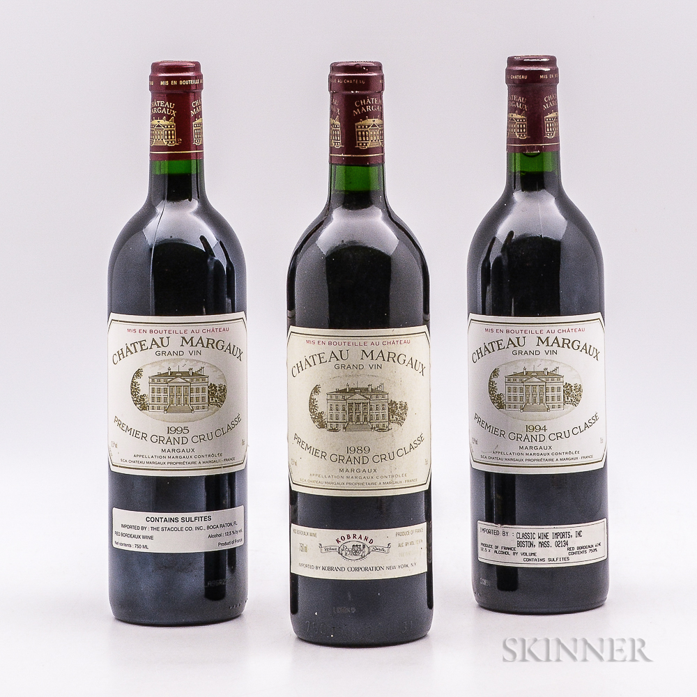 Chateau Margaux, 3 bottles