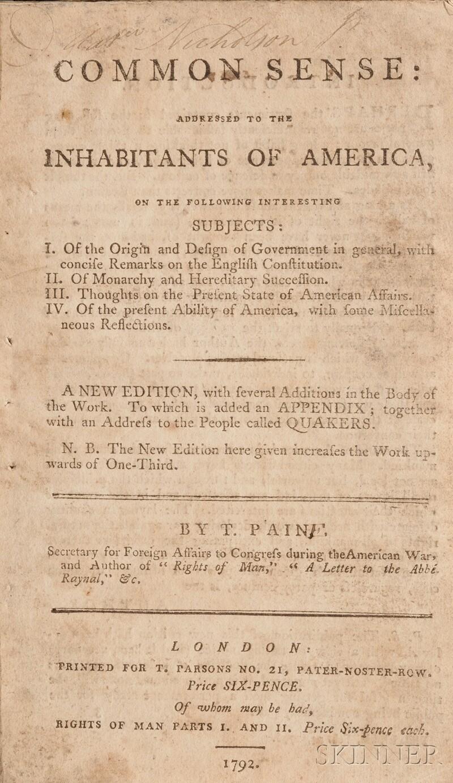 Paine, Thomas (1737-1809)