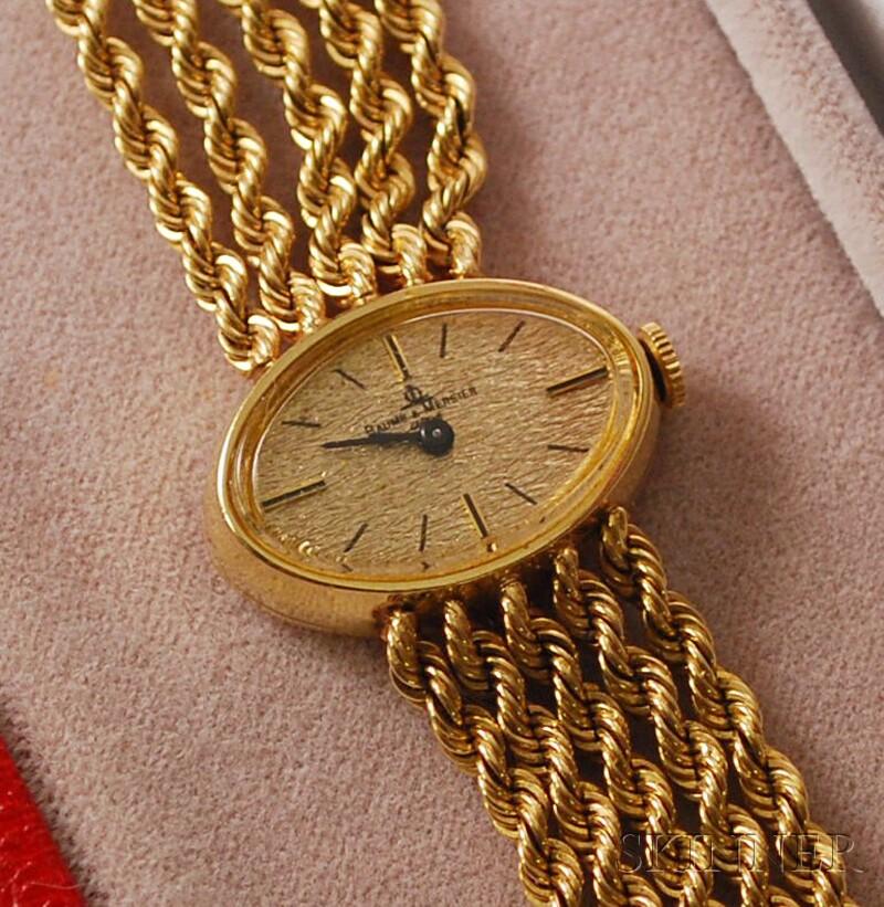 14kt Gold Baume & Mercier Wristwatch