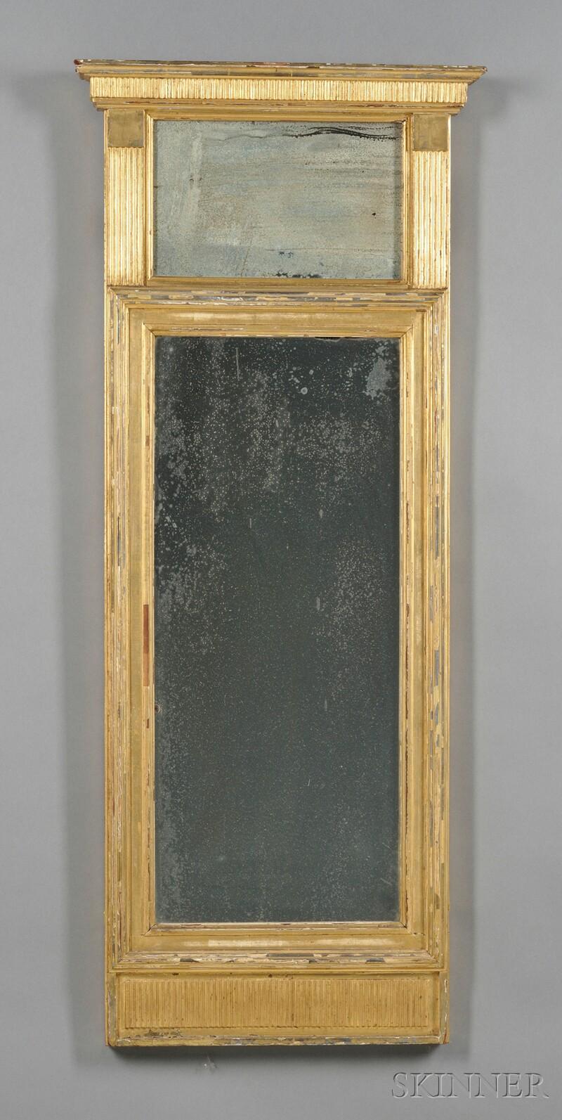 Gilt Tabernacle Mirror