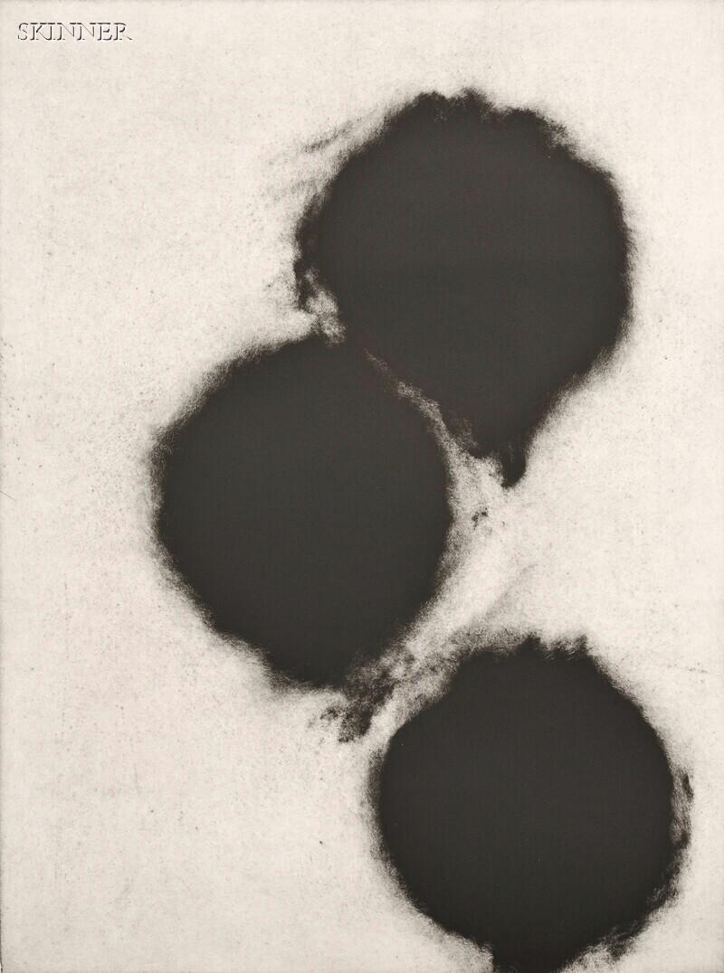 Donald Sultan (American, b.  1951)      Plate