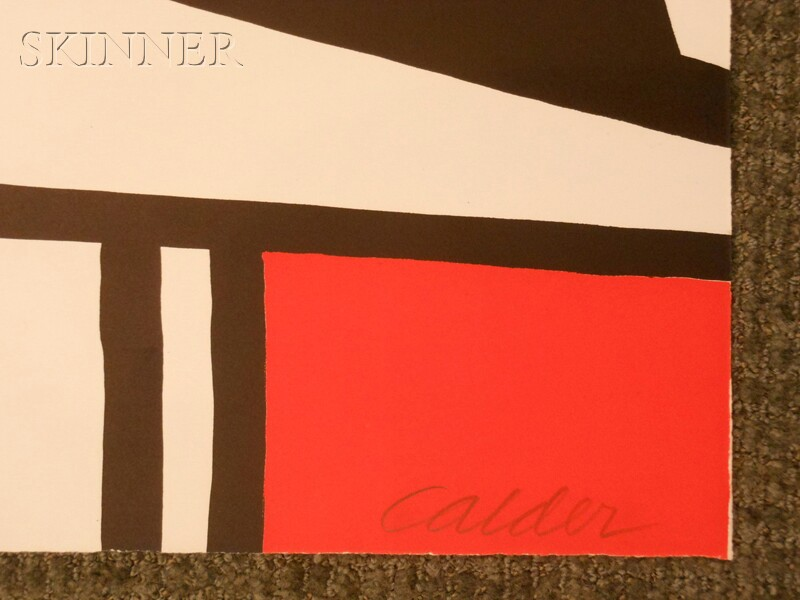 Alexander Calder (American, 1898-1976)      L'Acier