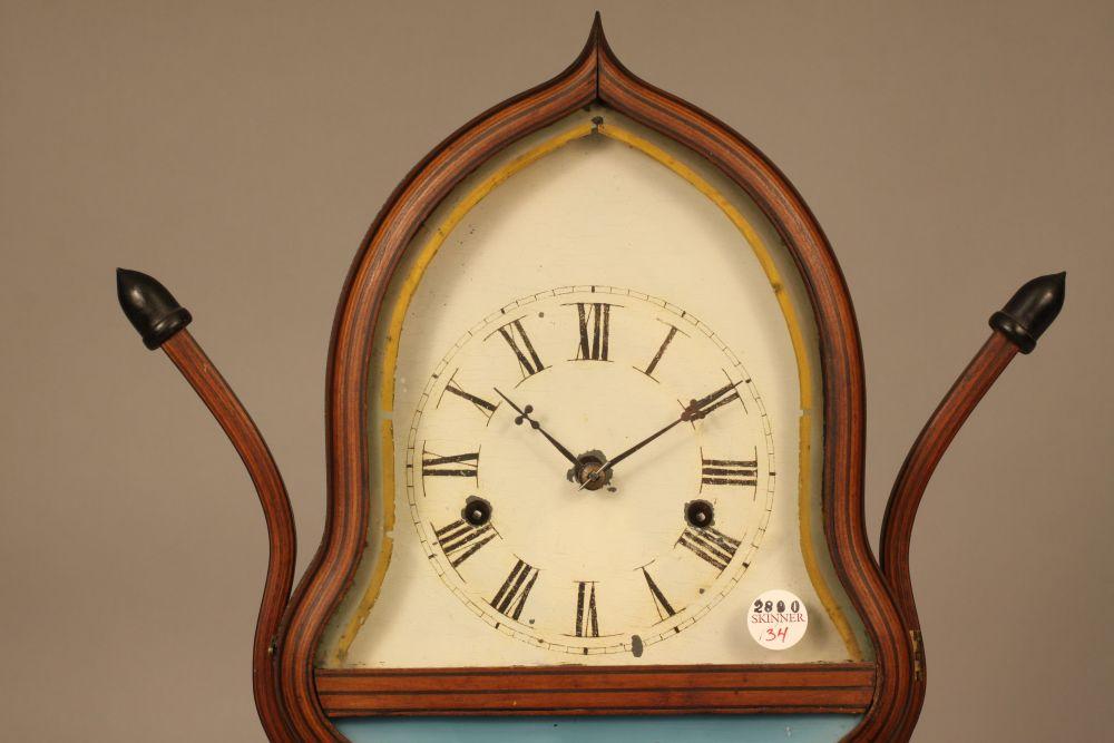 J C Brown Rosewood Acorn Clock Sale Number 2890m Lot