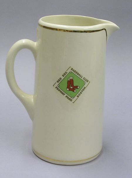 Red Sox Baseball Club Fenway Park Boston Ceramic Pitcher