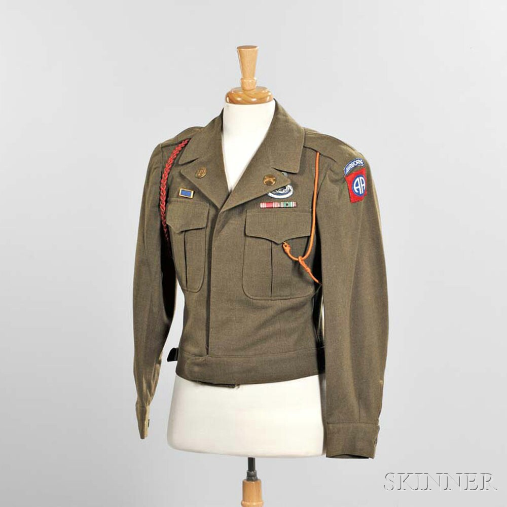 Eisenhower Jacket Owned by Private Earl L. Dart, 82nd Airborne Division