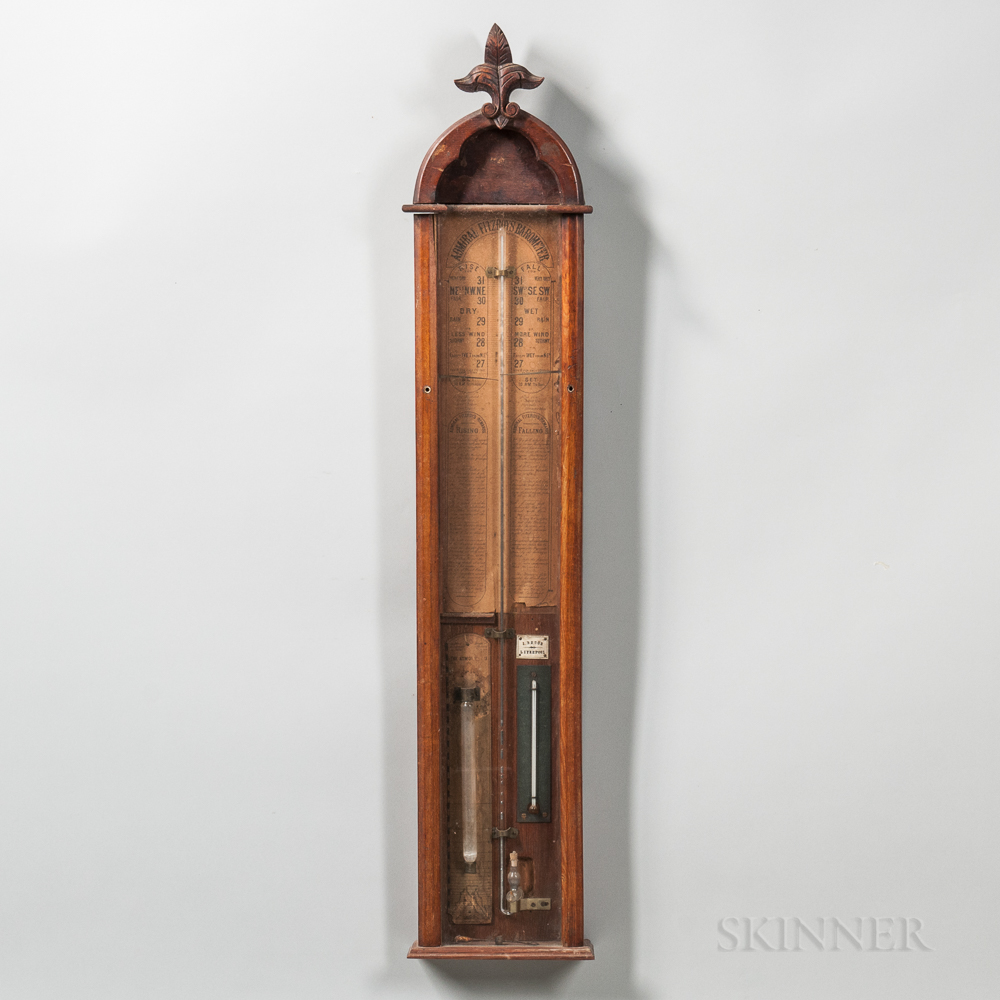 Admiral Fitzroy Mercury Barometer